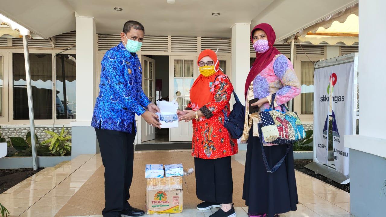 Pengusaha Gorontalo dan Nunukan kembali Sumbang Rapid test untuk Penanganan Covid 19 di Wajo