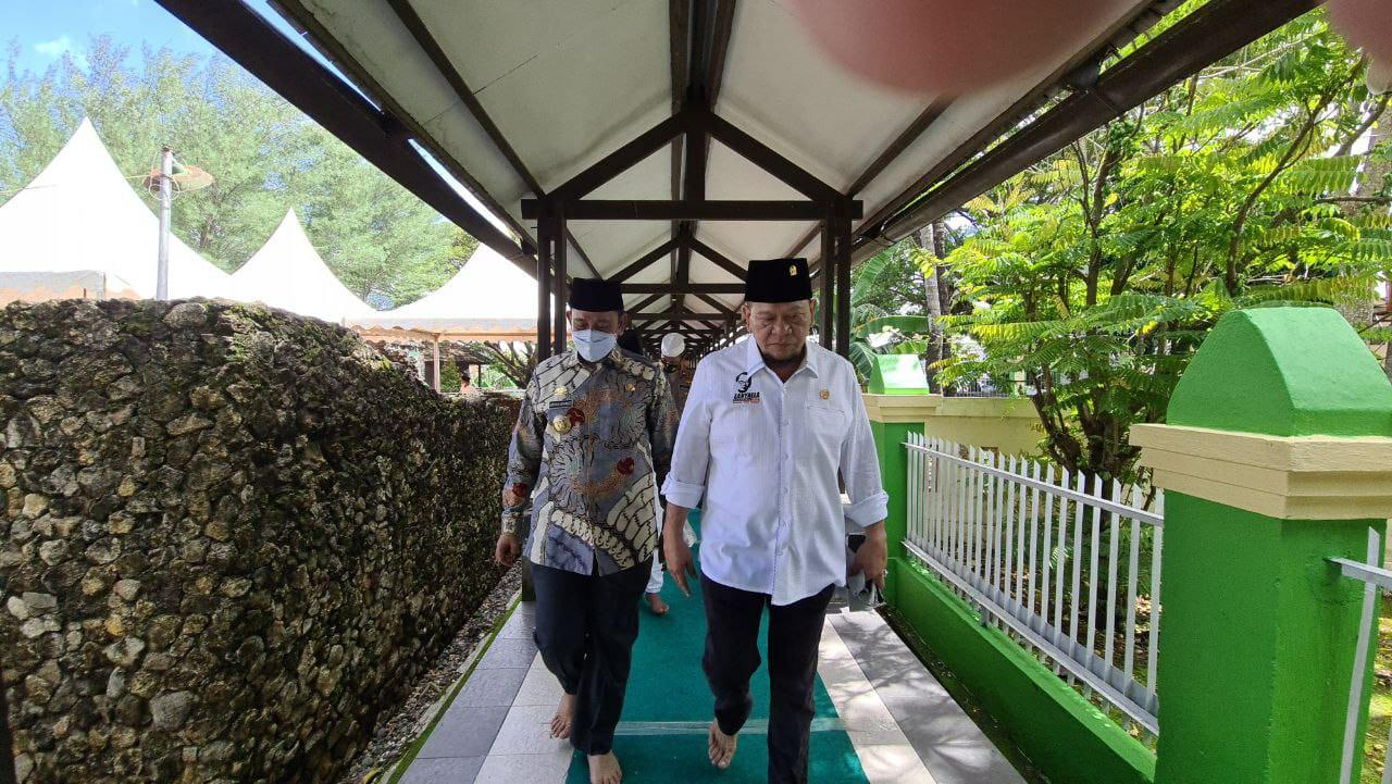 Ketua DPD RI siap Kawal Revitalisasi Masjid Tua Tosora