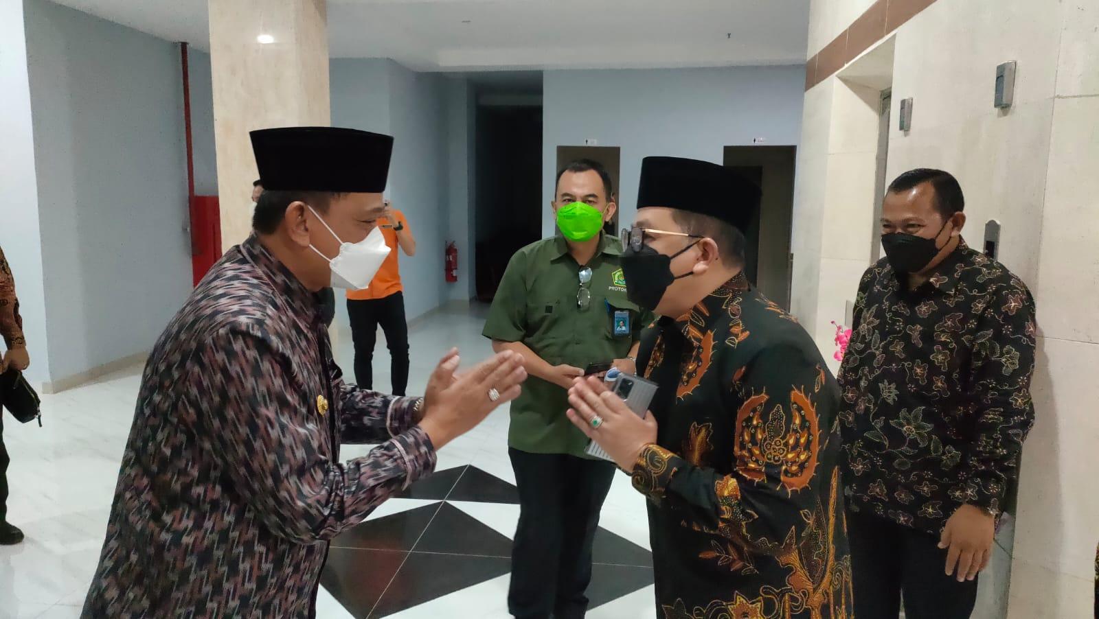 Setelah Jokowi, Giliran Wakil Menteri Agama Yang Ke Wajo